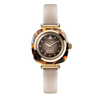 Vivienne Westwood Tourte Ladies' Gold Plated Strap Watch - Product number 3825116