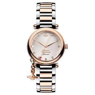 Vivienne Westwood Orb Ladies' Two Colour Bracelet Watch - Product number 3825191