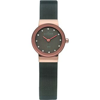 Skagen Ladies' Grey Stainless Steel Mesh Bracelet Watch - Product number 3829774