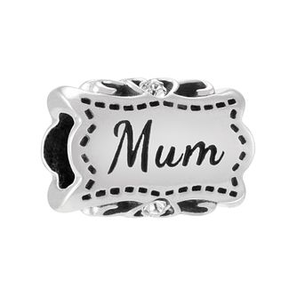 Chamilia Sterling Silver Lovely Mum Charm - Product number 3829812