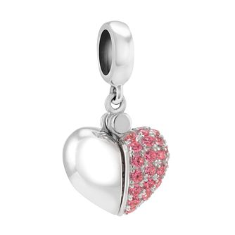 Chamilia Sterling Silver Secret Message Heart Bead - Product number 3829847