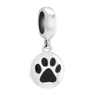 Chamilia Petite Pet Paw Charm with Enamel - Product number 3830071