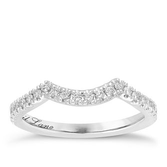 Neil Lane 14ct White Gold 1/5ct Wedding Band Ring - Product number 3830624