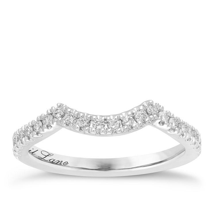 Neil Lane 14ct White Gold 1 5ct Wedding Band Ring