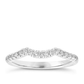 Neil Lane 14ct White Gold 0.28ct Diamond Wedding Ring - Product number 3831418