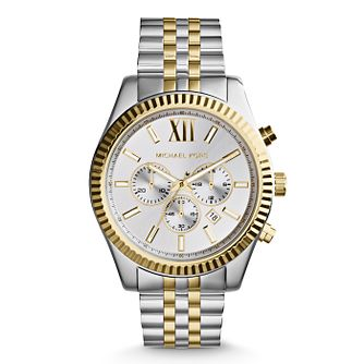 Michael Kors Men's Two Colour Bracelet Watch - Product number 3833909