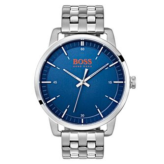 Boss Orange Stockholm Men's Stainless Steel Bracelet Watch - Product number 3836290
