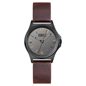 Barbour Hebburn Ladies'  Black Ion Plated Strap Watch - Product number 3840328