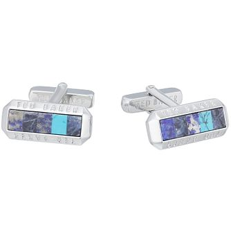 Ted Baker Blue Cufflinks - Product number 3861694