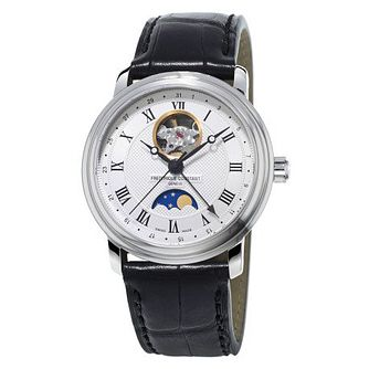 Frederique Constant Classics Men's Moonphase Strap Watch - Product number 3865681