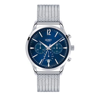 Henry London Men's Knightsbridge Mesh Bracelet Watch - Product number 3870529