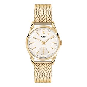 Henry London Men's Westminster Gold-Plated Bracelet Watch - Product number 3870804