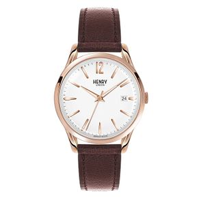 Henry London Ladies' Highgate Brown Leather Strap Watch - Product number 3871606