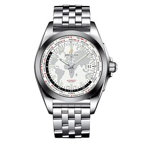 Breitling Galactic 44 Men's Stainless Steel Bracelet Watch - Product number 3880273