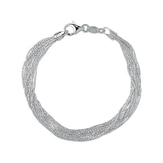 Links of London Essential Silk Sterling Silver Bracelet M - Product number 3884813