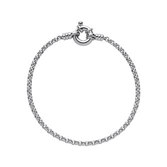 Links of London Sterling Silver Mini Belcher Bracelet 18cm - Product number 3884848