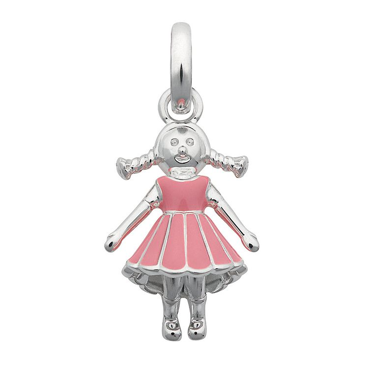 Links of London Sterling Silver & Enamel Girl Charm - Product number 3885100