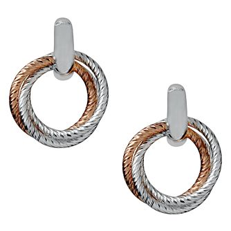 Links of London Aurora Rose Gold Vermeil Cluster Earrings - Product number 3885844