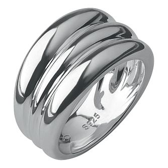 Links of London Hope Silver Triple Stack Ring Size S - Product number 3887529