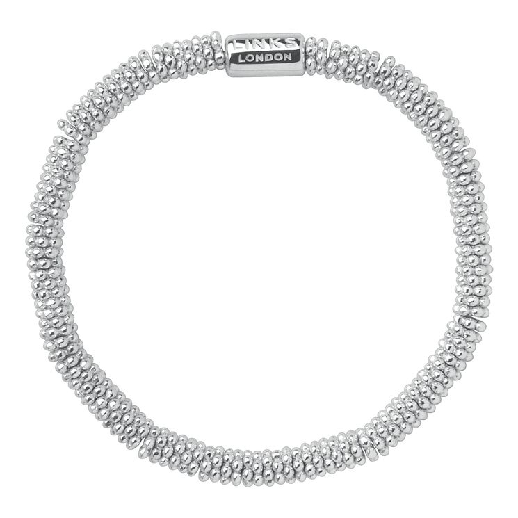 Links of London Effervescence Sterling Silver Bracelet M - Product number 3887766