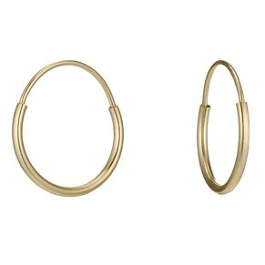 Gold Sleeper Earrings - Product number 3887774