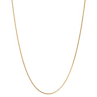 Links of London 18ct Gold Vermeil Double Chain 50cm - Product number 3888444