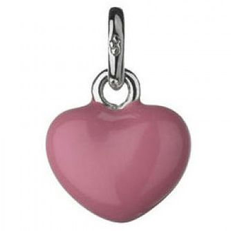 Links of London Pink Mini Heart Charm - Product number 3888509