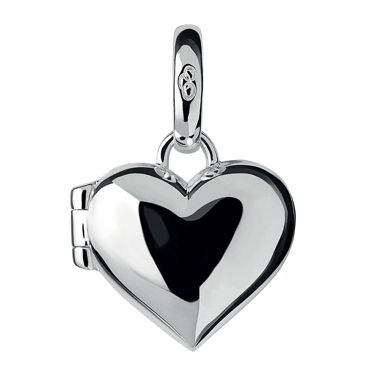 Links of London Sterling Silver Heart Locket Charm - Product number 3888592