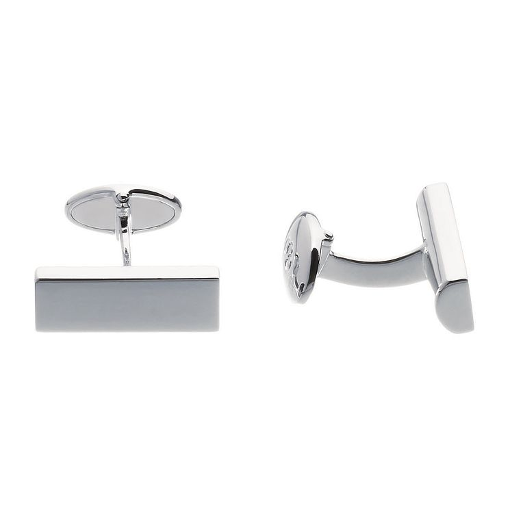 Links of London Men's Rogue Sterling Silver T-Bar Cufflinks - Product number 3889416