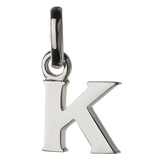 Links of London Sterling Silver Alphabet K Charm - Product number 3890163