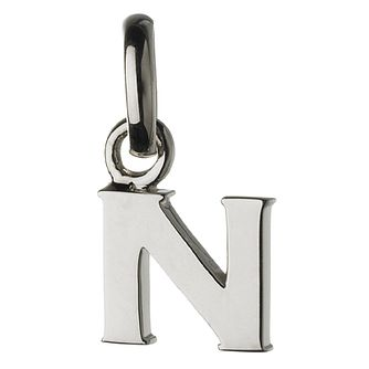 Links of London Sterling Silver Alphabet N Charm - Product number 3890252