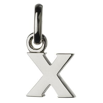 Links of London Sterling Silver Alphabet X Charm - Product number 3890481