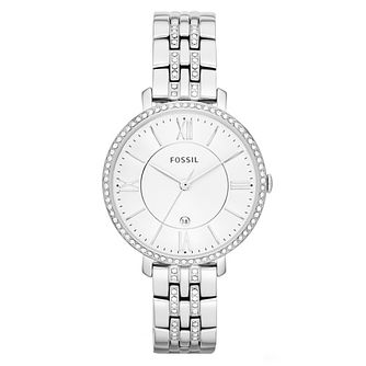 Fossil Jacqueline Ladies' Stainless Steel Bracelet Watch - Product number 3904261