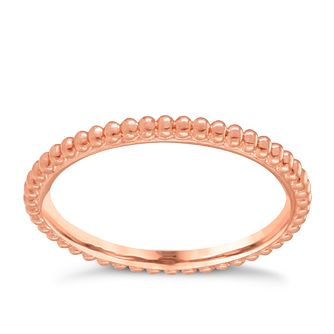 Chamilia 9ct Rose Gold One Thousand Wishes Ring Small - Product number 3905225