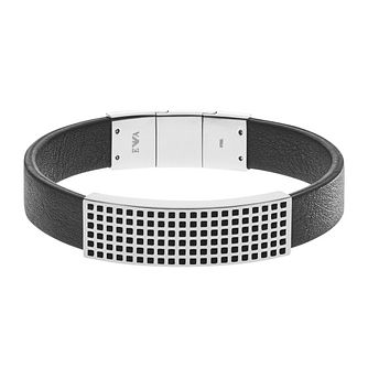 Emporio Armani Stainless Steel Grid Bracelet - Product number 3907228