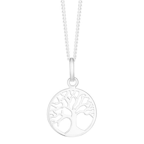Tree of Life Design Silver Silouhette Pendant - Product number 3912396
