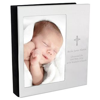 Personalised Cross Photo Frame Album 4x6 - Product number 3913791
