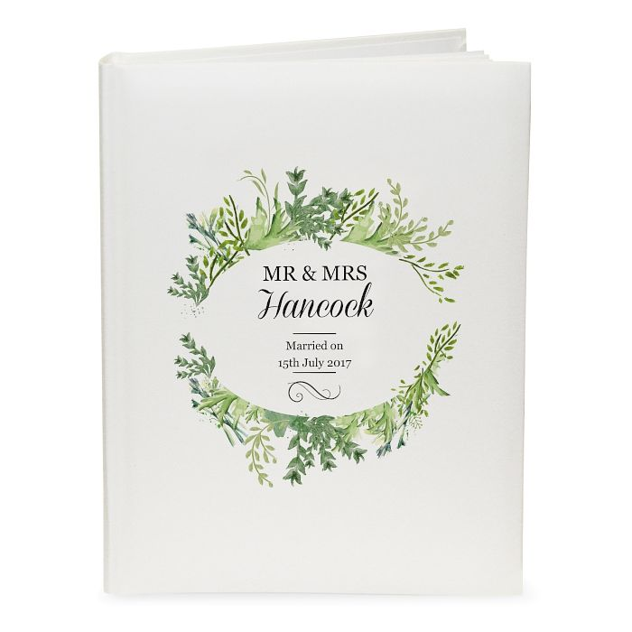 Personalised Fresh Botanical Traditional Album - Product number 3914356
