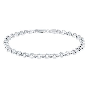 Sterling Silver Large Belcher Bracelet - Product number 3926508