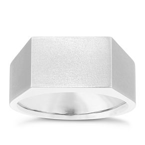 Titanium Flat Face Design Ring - Product number 3930157