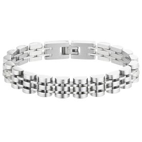 "Stainless Steel 8.25"" Men's Bracelet - Product number 3930599"
