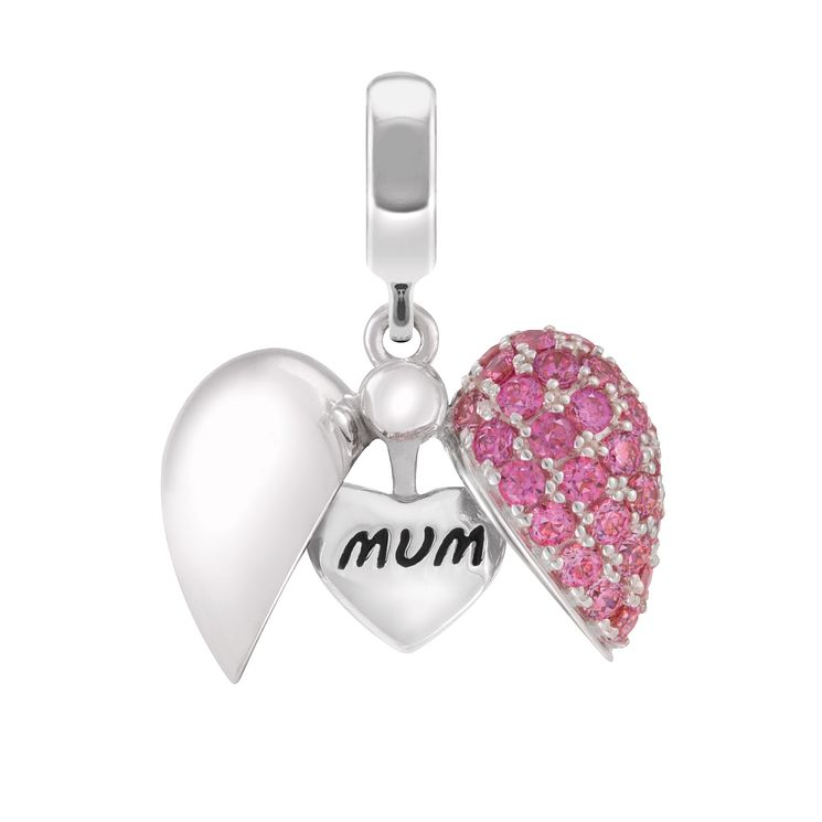 Chamilia Mum Secret Message Heart Bead - Product number 3931994
