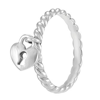 Chamilia Heart Lock Ring Large - Product number 3932850