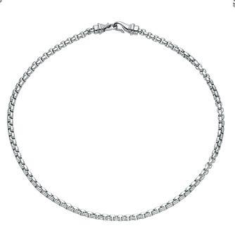 Men's Stainless Steel Belcher Necklace - Product number 3939340