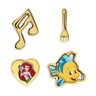 Disney Little Mermaid Children's Four Stud Earring Set - Product number 3941000