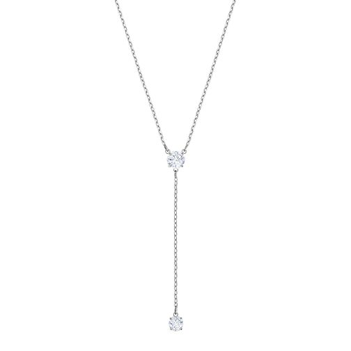 Swarovski Ladies' Rhodium Plated Attract Necklace - Product number 3941825