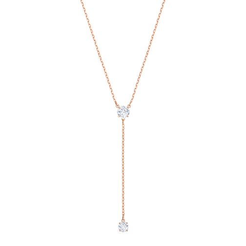 Swarovski Ladies' Rose Gold Plated Attract Necklace - Product number 3941876