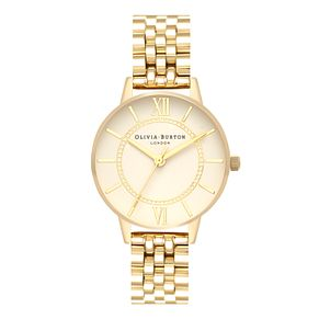 Olivia Burton Wonderland Yellow Gold Metal Plated Watch - Product number 3944395