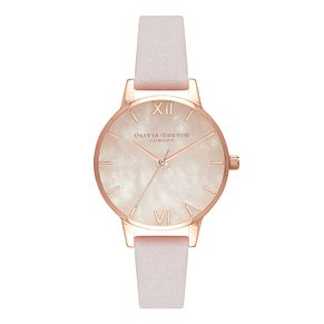 Olivia Burton Blossom Rose Gold Metal Plated Watch - Product number 3944611