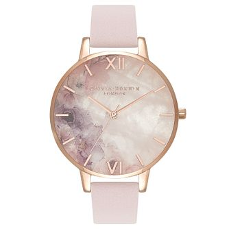 Olivia Burton Semi Precious Rose Gold Metal Plated Watch - Product number 3944646